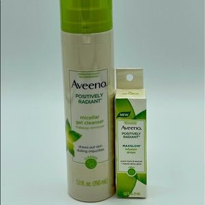 Aveeno Positively Radiant Gel Cleanser + MAXGLOW
